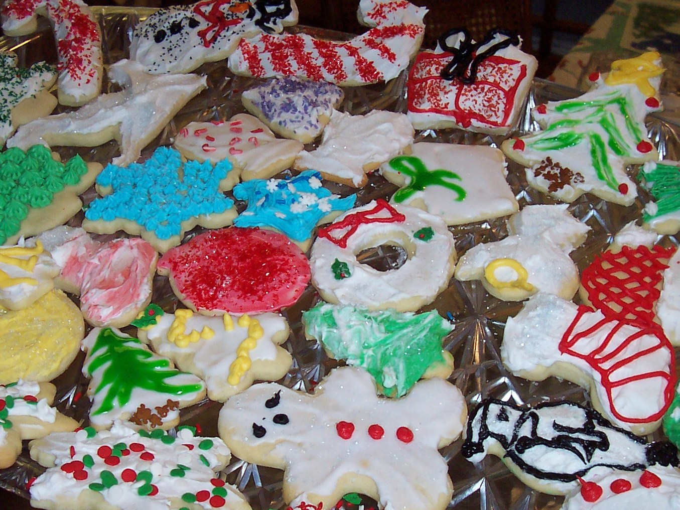 Superb Nibbles Of Tidbits A Food Blogchristmas Cookie Decoration Ideas Easy Diy Christmas Decorations Tissureus