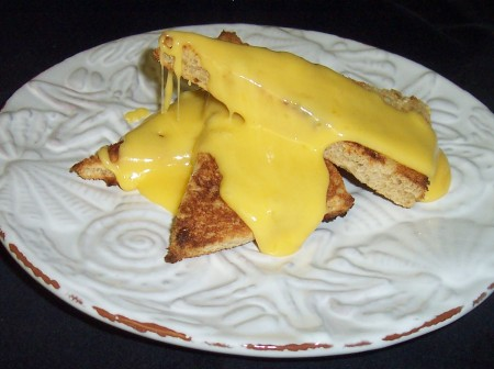 Cheese Toast Points