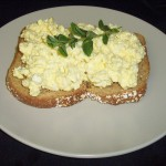 Egg Salad Open Faced