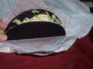 Taco Bell's Black Jack Taco