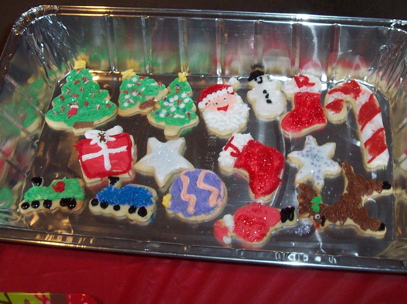 Pleasing Nibbles Of Tidbits A Food Blogmore Christmas Cookie Decorating Easy Diy Christmas Decorations Tissureus