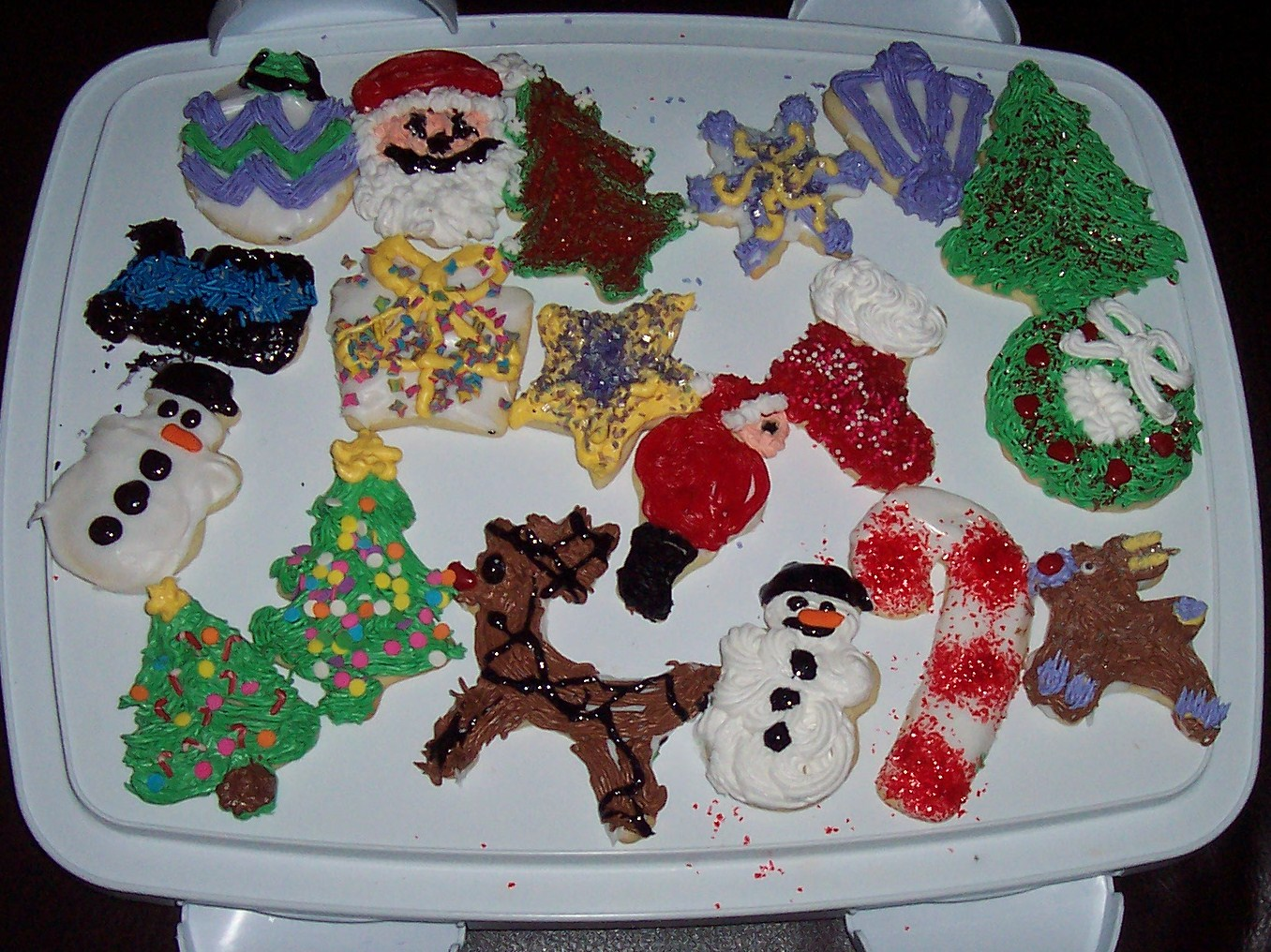 Enjoyable Nibbles Of Tidbits A Food Blogmore Christmas Cookie Decorating Easy Diy Christmas Decorations Tissureus