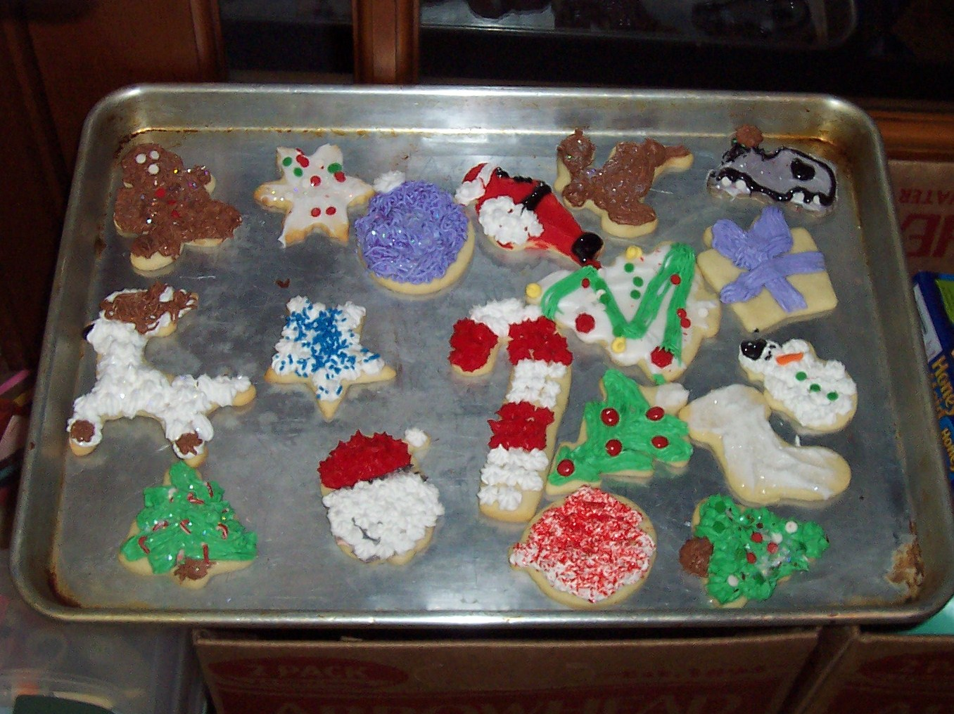 ... Christmas Cookies 2009 056 & Nibbles of Tidbits a Food BlogMore Christmas Cookie Decorating ...
