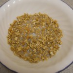 Bowl of Low-Fat Granola