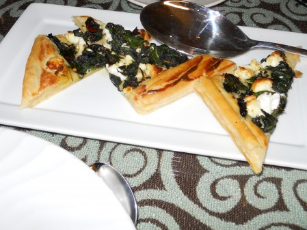 Swiss Chard Tart with Goat Cheese