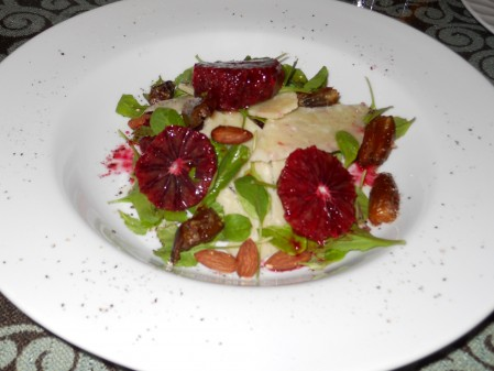 Blood Orange, Date and Arugula Salad