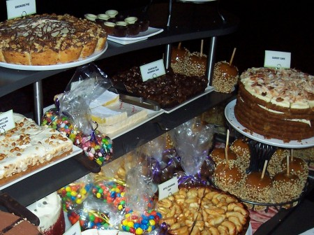 Staples Center Dessert Cart