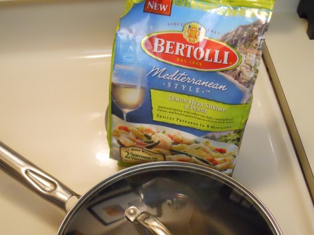 Bertolli Lemon Herb Shrimp Penne