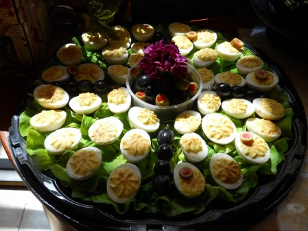 Don't eat this Deviled Egg Platter!