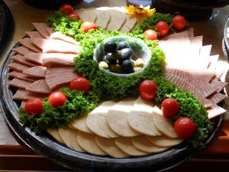 Phony Meat Platter