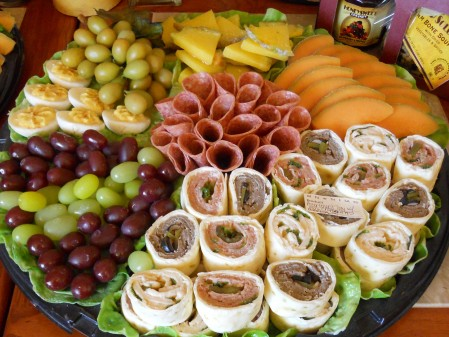 Fake Appetizer Platter