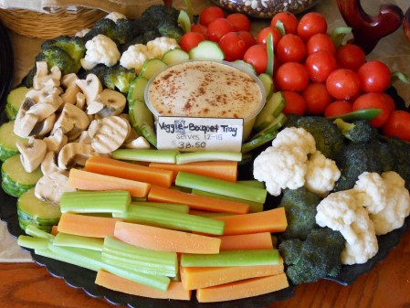Veggie Platter -- Does it look real?