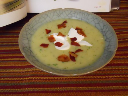 Final Soup with Bacon and Sour Cream