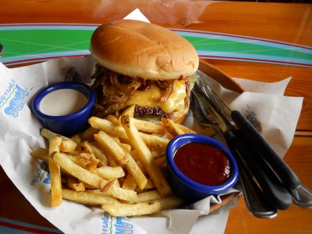 Maverick Burger at Islands
