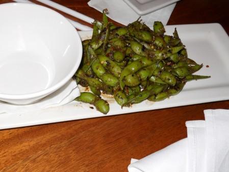 Togarashi Edamame Beans