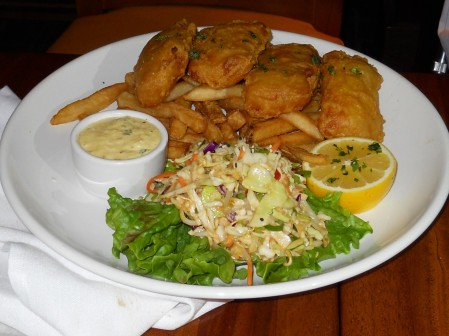 Beer Battered Fish N' Chips