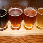 Flight of Draught Beers