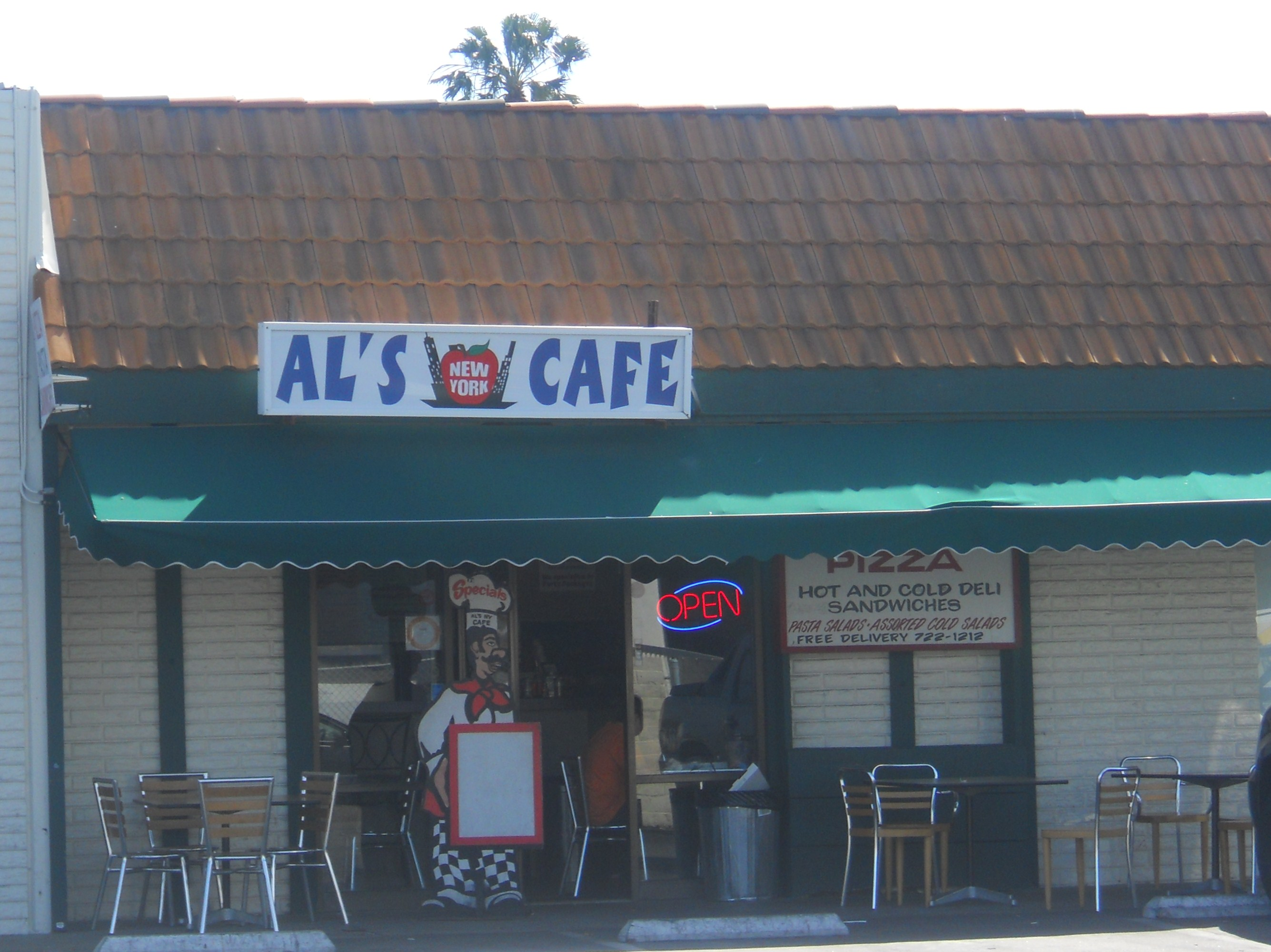 Al's New York Cafe in Costa Mesa