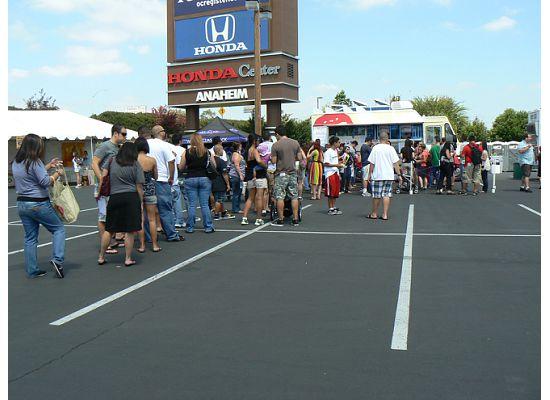 honda center events. the Honda Center Saturday