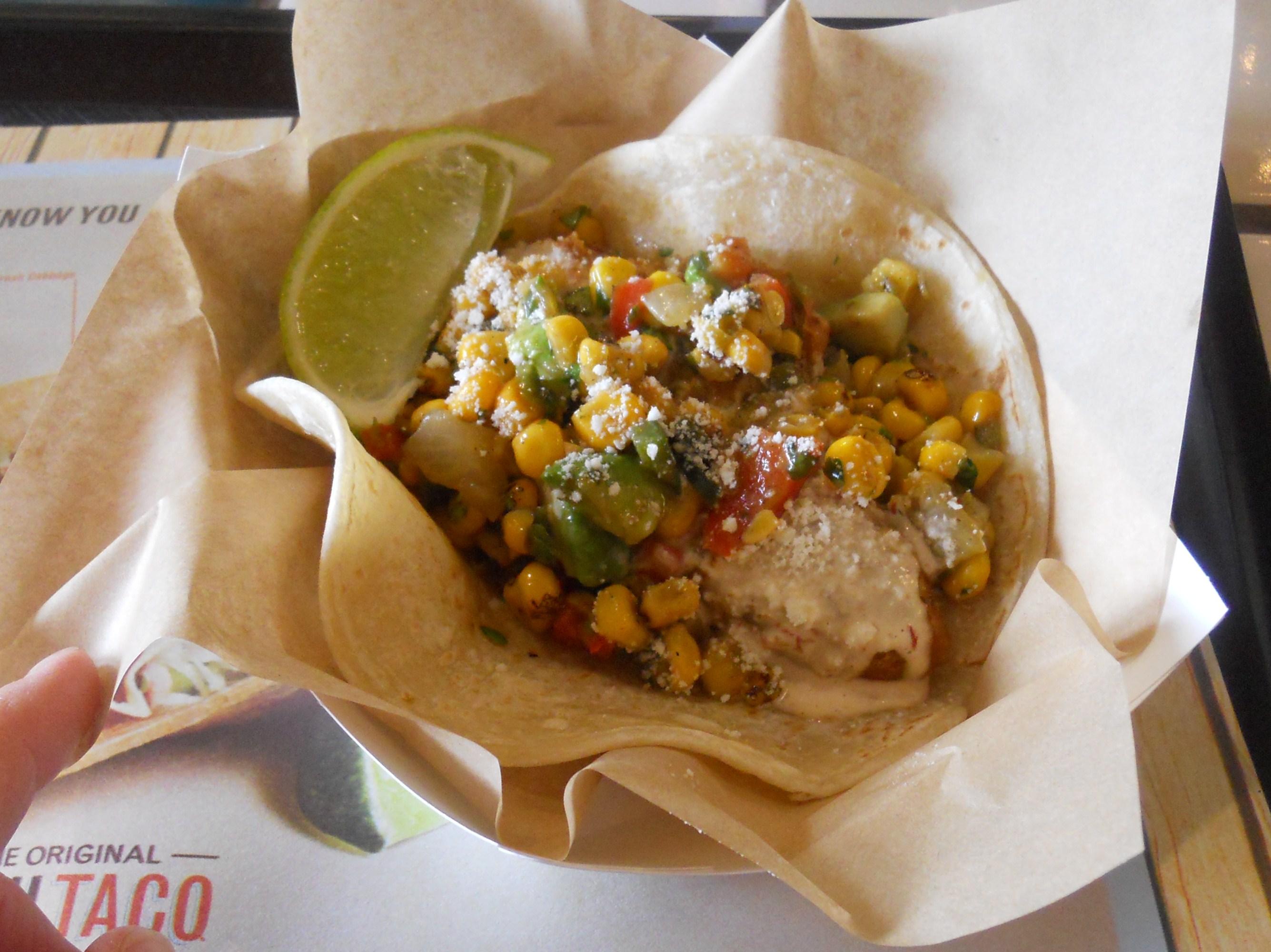 Nibbles of tidbits a food blogwe say put it on the for Fish taco menu
