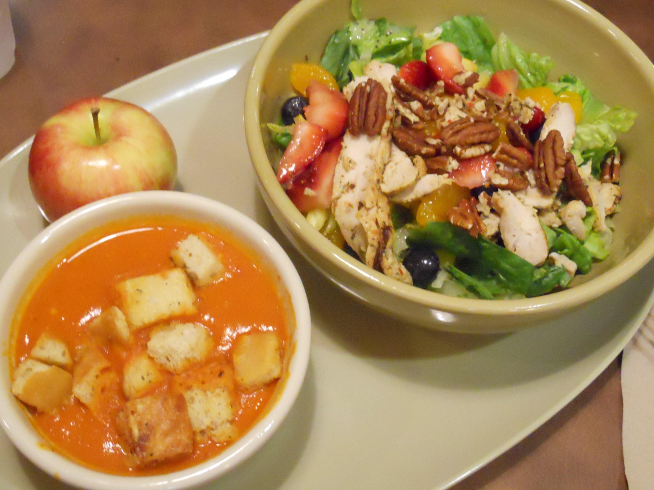 curridiculum: Panera Strawberry Poppyseed Salad