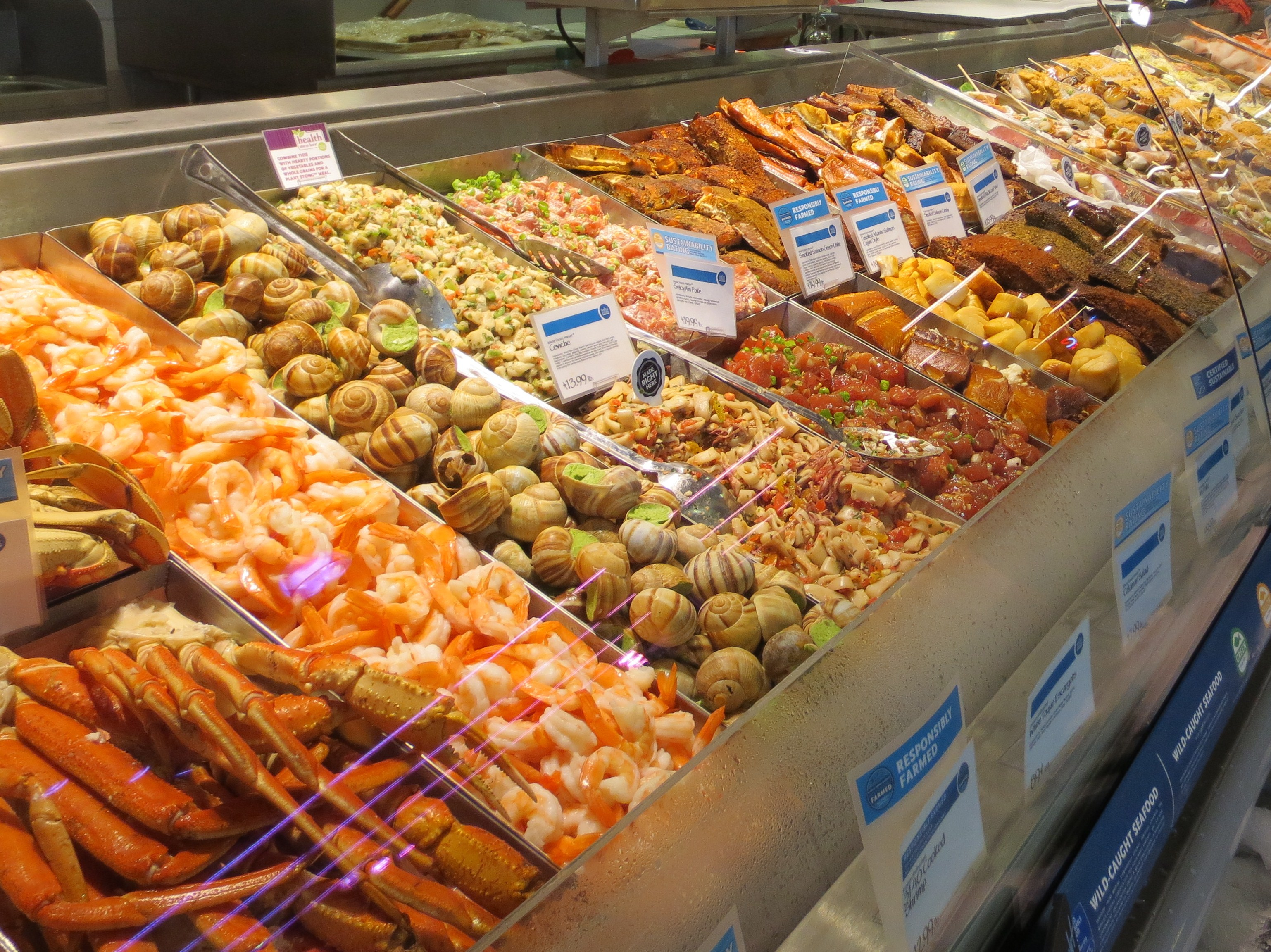 Nibbles of tidbits a food blogwhole foods market in for Fresh fish store near me