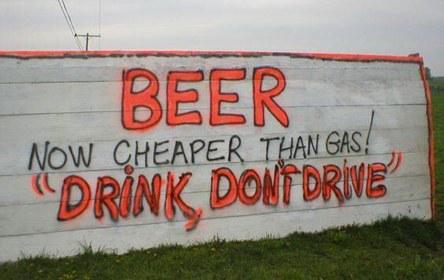 Beer / Gas