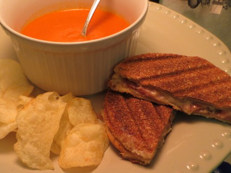 Tomato Soup, Grilled Cheese 015