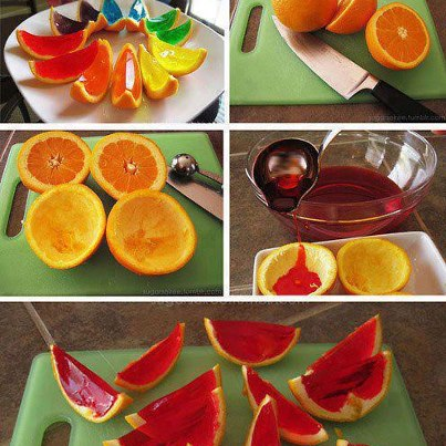 Jello Wedges
