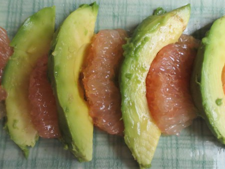 Avocado and Grapefruit