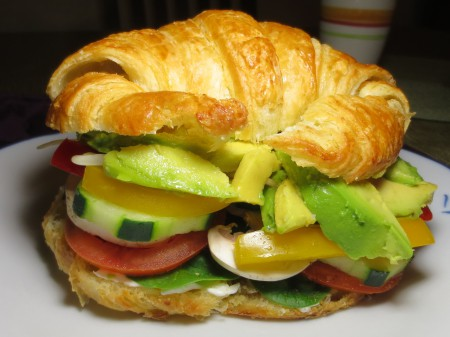 Veggie Sandwich with Avocado