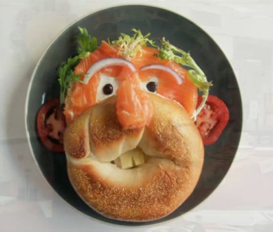 Bagel & Lox Face