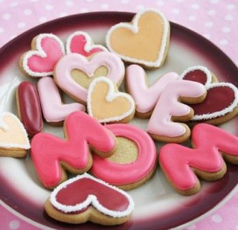 Happy Mom's Day Cookies