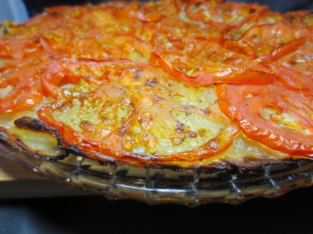 Potato-Tomato Pie