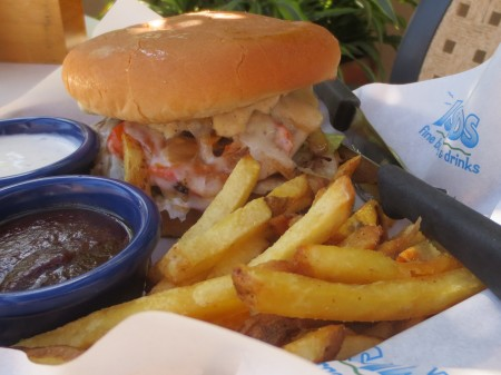 Islands Nalu Nalu Burger