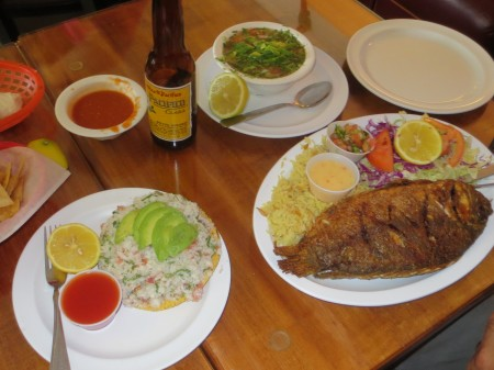 Mariscos Fried Fish