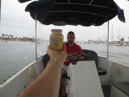 Cheese Platter Boat Ride - Grey Poupon