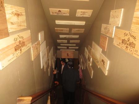 The Hobbit Wine Cellar Stairs
