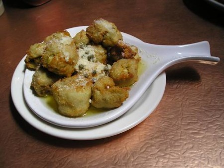 Fried Artichoke Hearts