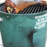 Smoked Yellowtail on Smoker