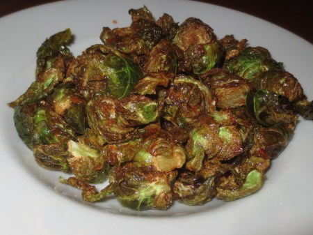Egg Cracker Brussels Sprouts