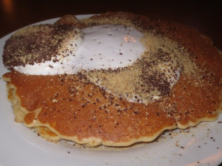Egg Cracker Campfire Pancakes