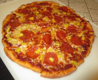 Two Ingredient Pizza Crust 024