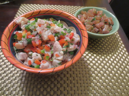 Ceviche and Poke