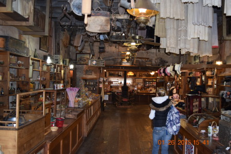 Adventure and Food -- Calico Ghost Town