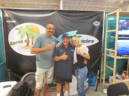 With Sergio of Angler Chronicles