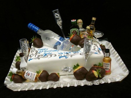 Booze Cake