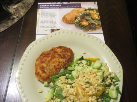 Blue Apron Meal