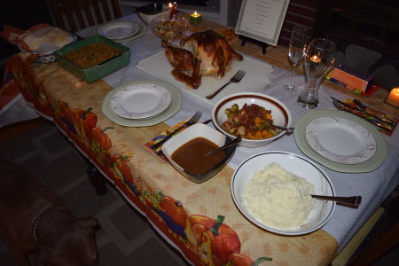 Thanksgiving Dinner with Jennie-O