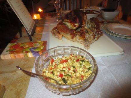 Turkey and Corn Dish